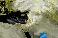 صور الأقمار الصناعية لساعات الظهيرة وتطور الحالة الجوية للفترة القادمة