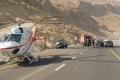 حادث سير مروّع قرب البحر الميت وإصابات بليغة جداً