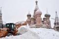 """عاصفة ثلجية """"غير مسبوقة"""" تضرب موسكو"""