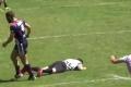 بالفيديو: روح غير رياضية.. لاعب يلكم رأس الحكم إعتراضا على حكمه