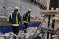 إصابة 3 عمال بانهيار سقف مبنى قيد الإنشاء في قلقيلية