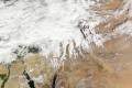 الغيوم تخفي فلسطين عن الخارطة !..شاهد غيوم إندور عبر أقمار وكالة ناســا