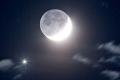 """الجمعية الفلكية بجدة ترصد """"وميضاً"""" بجانب القمر"""