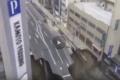 بالفيديو ...حفرة عملاقة تبتلع طريقا عاما في اليابان