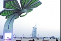 أشجار نخيل ذكية في دبي تختزن الشمس وتثمر «واي فاي»
