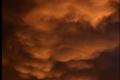 غيوم الماماتوس في سماء القدس بتاريخ 15 ديسمبر 2007