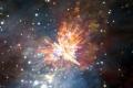 """العلماء يلتقطون صورا """"مبهرة وعنيفة"""" لتصادم النجوم"""