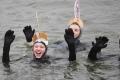 2000 سباح في سباق المياه المتجمدة
