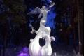 روائع فن النحت: مسابقة المنحوتات الجليدية باستخدام مكعباً جليدياً واحداً فقط!