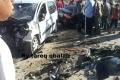 بالصور .. حادث سير قوي وقع عصر اليوم غرب مدينة نابلس وحدوث إصابات