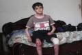 في فلسطين .. الطفل زهدي ايوب المرض يأكل خلايا جسده