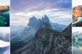 بالصور| القمم المهيبة في أوروبا.. من المنحدرات الثلجية في سفالبارد إلى أحد أعلى جبال إيطاليا
