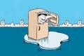 ماذا لو وضعت عبوة ماء داخل براد في القطب الشمالي، هل يتجمد الماء أم لا؟