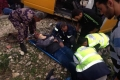 اصابتان خطيرتان في حادث سير على طريق جنين نابلس