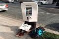 "أحد عشاق ""آيفون"" يحجز منذ الآن دوره امام متجر بطوكيو لشراء أول هاتف ""آيفون 6"""