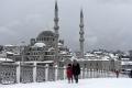 اجواء قطبية وعواصف ثلجية عاتية وطويلة الأمد تضرب تركيا