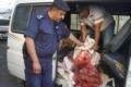 ضبط 300 كغم من اللحوم الفاسدة قبل دخولها أسواق رام الله