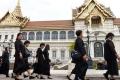 تايلاند تظهر بلون واحد لمدة شهر بمناسبة حرق جثمان الملك