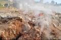"""مكبات النفايات الإسرائيلية في قرى غرب رام الله تقتل الطبيعة وتشوه التضاريس: """"رنتيس نموذجاً"""