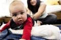 تمارين لتنمية حاسة التوازن لدى الرضيع