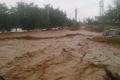 سيول وفيضانات في وسط بلاد الشام بعد امطار غزيرة ونادرة الحدوث