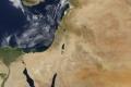 الأقمار الصناعيه اليوم من وكالة ناسا لفلسطين ومحيطها | 28/6/2013