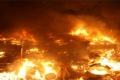 امريكا-حرائق الغابات تدمر المنازل وتقطع الطرق الرئيسية