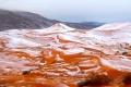 تساقط الثلوج في الصحراء الكبرى الأفريقية لأول مرة منذ 40 عاماً