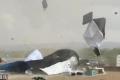 بالفيديو: تورنادو تضرب شاطئ الطنطورة الفلسطيني اليوم
