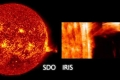 فيديو رهيب لانفجارات البلازما في تاج الشمس