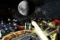 أحد أروع المشاهد الفلكية في رمضان ..كوكب المشتري والكعبة المشرفه يتعامدان