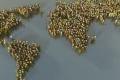 شاهد... عدد سكان الأرض 7 مليار نسمة تم تمثيلهم فرداً فردا شخصا في صفحة إنترنت ...