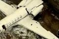 فيديو .. تحطم طائرة برازيلية تجاوزت الممر واصطدمت بسور المطار