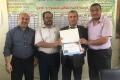البنك الإسلامي الفلسطيني يدعم مدرسه في غزة