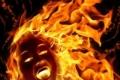 با ساتر يا رب... إمرأة فلسطينية تحرق نفسها لزواج زوجها عليها!