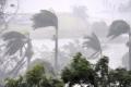 """بالصور.. الإعصار """"ديبى"""" العنيف يضرب أستراليا وسرعة تتجاوز 220كلم في الساعة"""