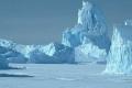 جبلٌ جليدي ضخم على وشك الانفصال في قارة أنتاركتيكا