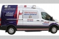إسعاف دبي تسبق المستقبل بسيارات ذكية