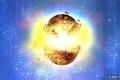 """انفجار كوني """"ضرب الأرض في العصور الوسطى"""""""