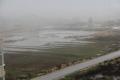الأمطار هطلت على طول البلاد وعرضها...والمنخفض الجوي النموذجي يبدأ بإلإنحسار التدريجي