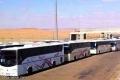 150 حافلة لمعتمرين فلسطينيين عالقة لأكثر من 15 ساعة على الحدود السعودية