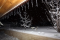 عاصفة عيبال مرّت من هنا ..الثلج والجليد في الخليل