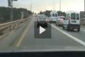 بالفيديو: فلسطيني يهرب من الشرطة الاسرائيلية قرب قليقلية