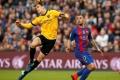 برشلونة يسقط في فخ التعادل أمام مالاجا بتسعة لاعبين