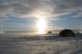 التغيرات المناخية تتسبب في انسلاخ جزيرة كاملة