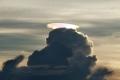 لقطة نادرة ...قبعة قوس قزح فوق سماء زمبابوي
