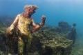 بالصور الرائعة ..اكتشاف مدينة رومانية غارقة بكنوزها في أعماق البحر