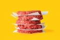 شطائر برجر خالية من اللحم بطعم اللحم وشكله