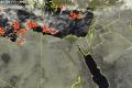 انتشار العواصف الرعدية في البحر المتوسط