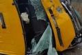 بالصور المؤسفة... حادث سير كبير في رام الله وإصابات كثيرة